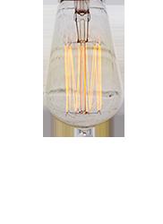 Dekoracyjna żarówka Edisona ST58