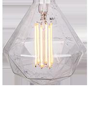 ŻARÓWKA LED G125 6W DIAMENT
